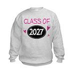 Class of 2027 Butterfly Sweatshirt