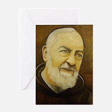 Padre Pio Greeting Cards