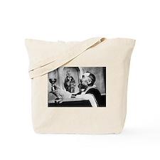 Cute Curiosity Tote Bag
