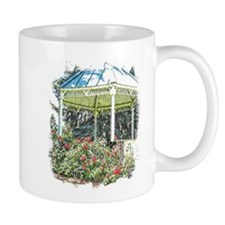 Rose garden gazebo Mugs