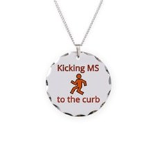 Kicking MS to the curb - kic Necklace Circle Charm