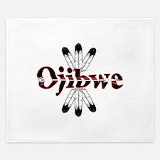 Ojibwe King Duvet