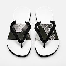 Funny Monk Flip Flops