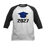 Class of 2027 Grad Kids Baseball Jersey