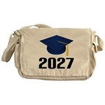 Class of 2027 Grad Messenger Bag