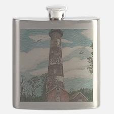 Assateague Island Lighthouse Flask