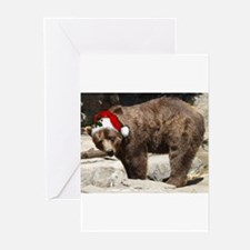 Cute Kodiak grizzly Greeting Cards (Pk of 20)