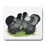 Gray Silkies Mousepad