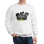 Gray Silkies Sweatshirt