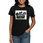 Gray Silkies Women's Dark T-Shirt