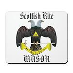 Masonic Scottish Rite Mousepad