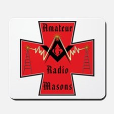 Masonic Ham Radio Operators Mousepad