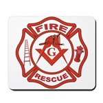 Masonic Firefighters Mousepad