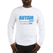 Autism Loved Long Sleeve T-Shirt