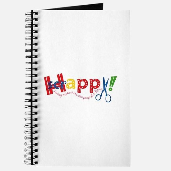 Happy Scrappy Journal