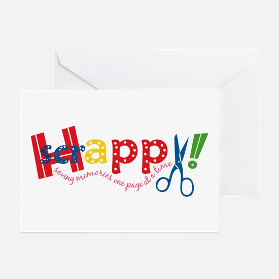 Happy Scrappy Greeting Cards (Pk of 10)