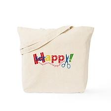Happy Scrappy Tote Bag