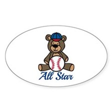 All Star Bear Decal