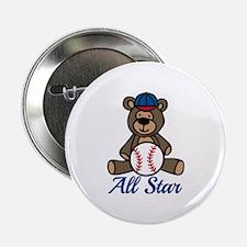 """All Star Bear 2.25"""" Button"""