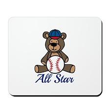 All Star Bear Mousepad