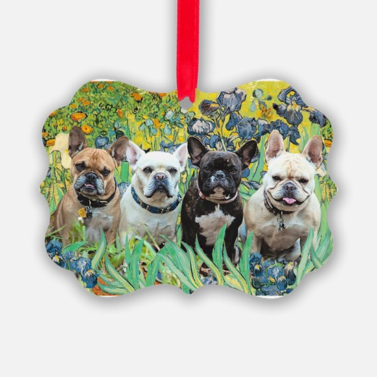 Cute Masterpiece dogs Ornament