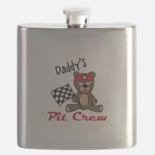 Daddys Pit Crew Flask