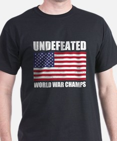 Undefeated World War Champs T-Shirt