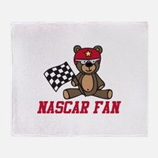 NASCAR Fan Throw Blanket
