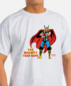 The Mighty Thor Personalized Design T-Shirt