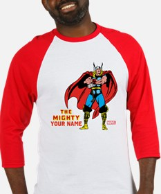 The Mighty Thor Personalized Desig Baseball Jersey