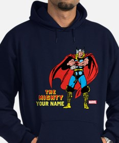The Mighty Thor Personalized Design Hoodie (dark)