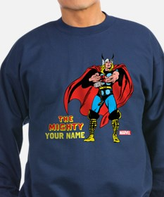 The Mighty Thor Personalized Des Sweatshirt