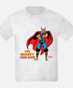 The Mighty Thor Personalized De T-Shirt
