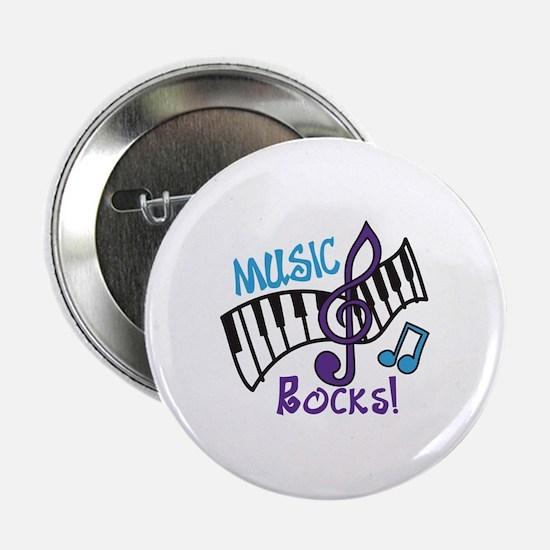"Music Rocks 2.25"" Button"