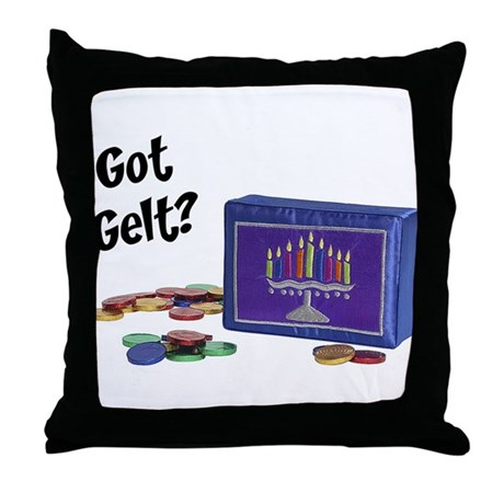Got Gelt Throw Pillow
