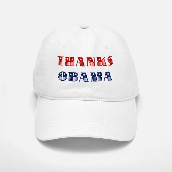 Thanks Obama Baseball Baseball Cap