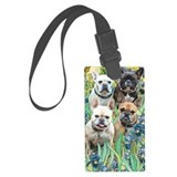 French bulldogs Luggage Tags