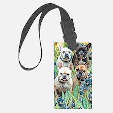 Cute Dog art Luggage Tag