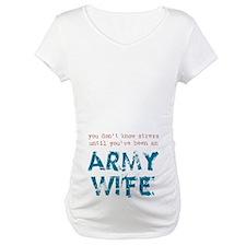 Stressed Army Wife Shirt