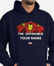 The Invincible Iron Man Personalized Hoodie (dark)
