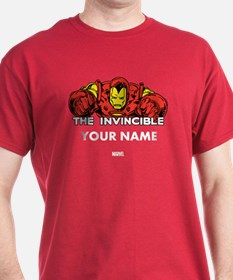 The Invincible Iron Man Personalized T-Shirt