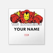 """The Invincible Iron Man Per Square Sticker 3"""" x 3"""""""