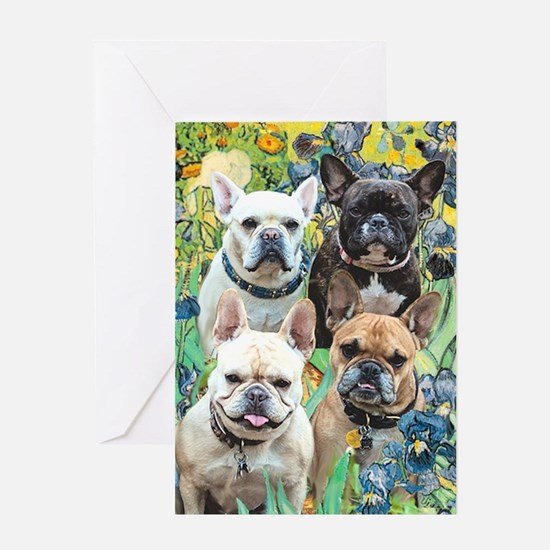 Brown dogs Greeting Card