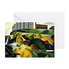 Fort George Hill Greeting Card