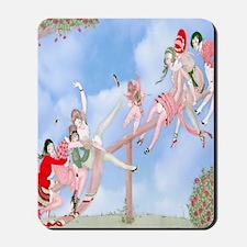 Gerda Wegener Game of Love Shower Curtai Mousepad