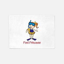 Pool Princess 5'x7'Area Rug
