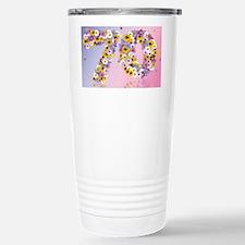 Modern daisies Travel Mug