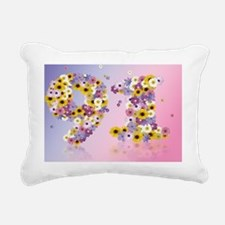 Cute 91st birthday Rectangular Canvas Pillow