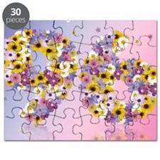 Cute Daisies Puzzle