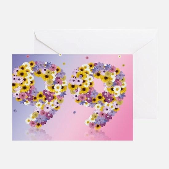 Cute Modern daisies Greeting Card